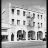 Store and apartments, Los Angeles, CA, 1929