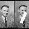 Portraits of high school students, Southern California, 1940