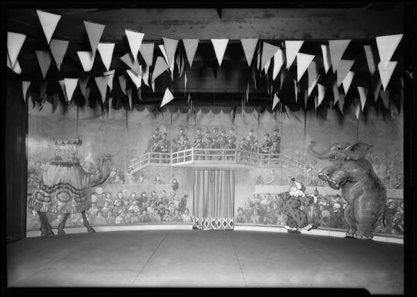 May Co. circus, Pearl Kellar, Southern California, 1930