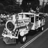 "American Legion parade, Long Beach, ""train"" float from Miami Beach, Dade County, Florida"
