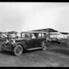 Packard official cars at National Air Races, Southern California, 1928