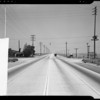 Intersection at West Manchester Avenue and South Sepulveda Boulevard, Los Angeles, CA, 1940
