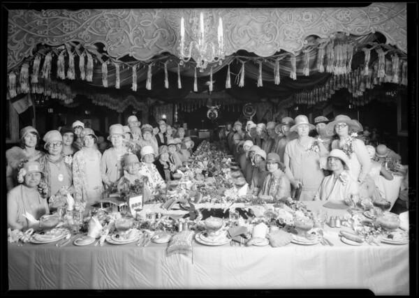 Culver City Women's Club at Montemartre, Culver City, CA, 1929