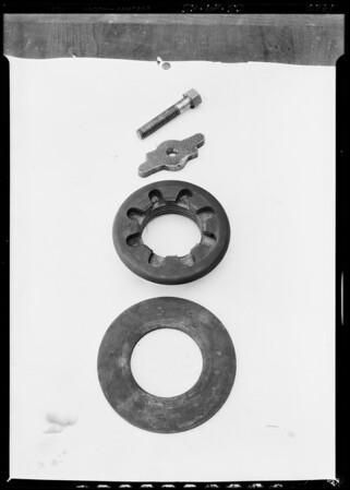 Rotary disc bit, Southern California, 1926