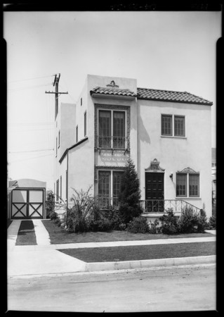 629 North Windsor Boulevard, Los Angeles, CA, 1926