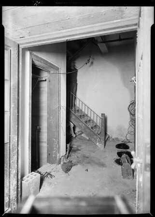 Elevator shaft, Edison Co. building, Southern California, 1931 [image 11]