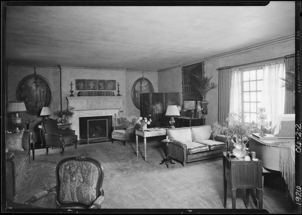 Mrs. Martin, #9 Berkeley Square, Southern California, 1926