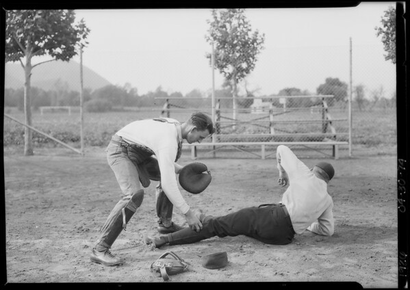 Baseball team, Southern California, 1926