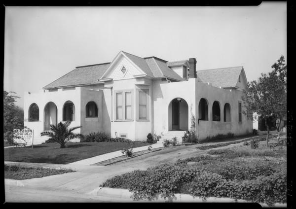 221 & 223 North Pine, Alhambra, Southern California, 1926