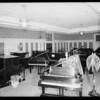 Piano department, Los Angeles, CA, 1926