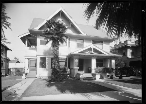 Exterior & interior, St. Barnabas Home, 534 South Boyle Avenue, Los Angeles, CA, 1931