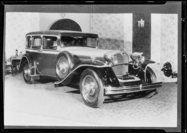 Jordan car, Southern California, 1930