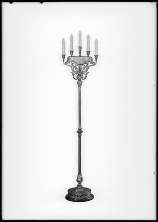 Forve Pettibone electric standard, Southern California, 1926