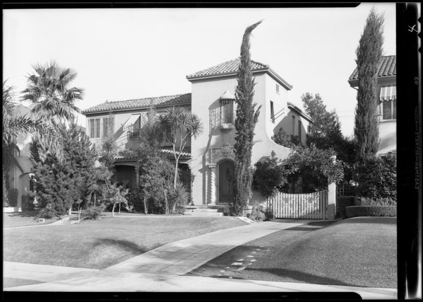 1238 Westchester Place, Los Angeles, CA, 1930