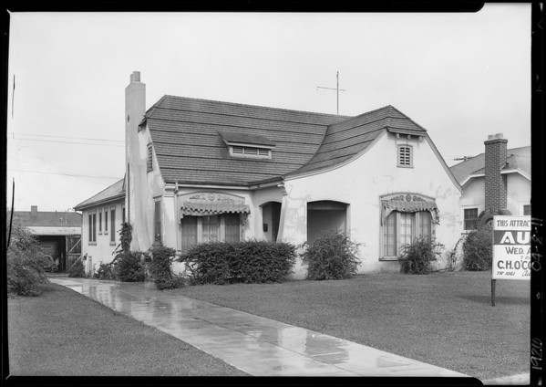 429 North Larchmont Boulevard, Los Angeles, CA, 1926