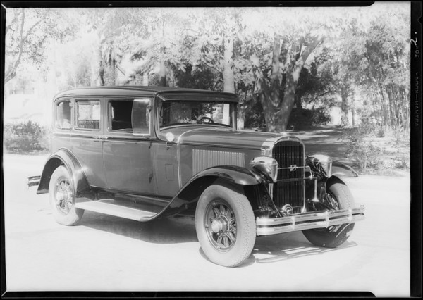 Buick, Woodlites, Southern California, 1929