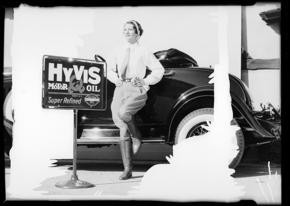 """That's the oil I depend on"", Hyvis Oil Co., Southern California, 1932"