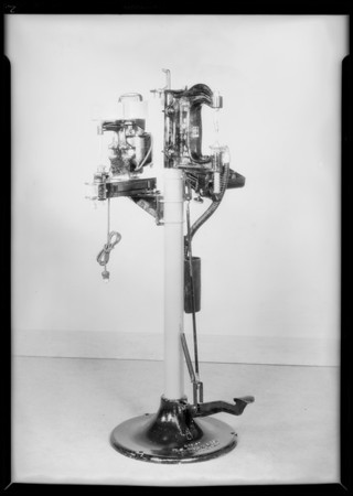 Brake lining machines, Rush Co., Southern California, 1931