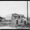 Shots around poultry farm, Southern California, 1927