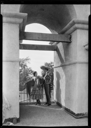 Exteriors (Players), Mission play, San Gabriel, CA, 1930