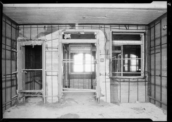 County Hospital under construction, Western Lathing Co., Los Angeles, CA, 1931