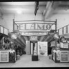 Standard Oil Company booth, poultry show, Southern California, 1930