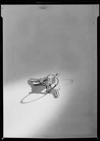 Key ring, Southern California, 1931