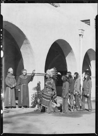 Exteriors (Players), Mission play, San Gabriel, CA, 1930
