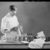 Chemical analysis of laundry, Southern California, 1931