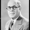 Portrait of Mr. MacDonald, Southern California, 1931