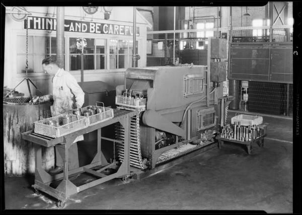 Washing machine, test lab, Axelson, Southern California, 1931