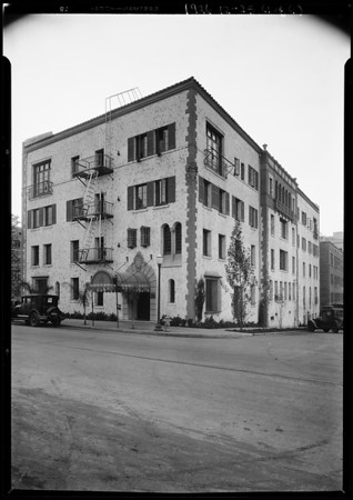 Bel Air Country Club & Forum Theatre, Los Angeles, CA, 1926