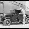 Airwheels at P.J. Walker, Southern California, 1932