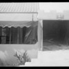 House damaged by car at 1083 North Hicks Avenue, East Los Angeles, CA, 1931