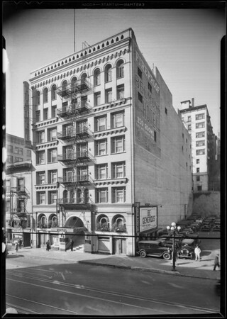 Belmont Hotel, 251 South Hill Street, Los Angeles, CA, 1930