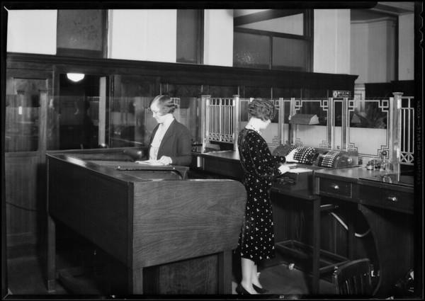 California Reserve, 408 South Spring Street, Los Angeles, CA, 1930