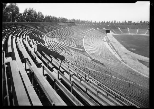 Coliseum interior & exterior, Los Angeles, CA, 1929