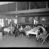 Lions Club at breakfast club luncheon, Southern California, 1930