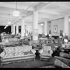 Interior of display room, Southern California, 1930