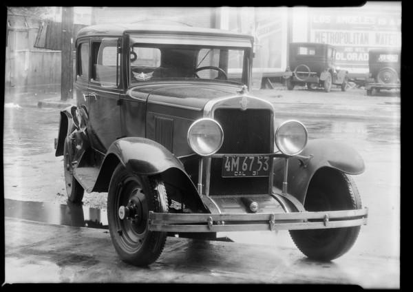 Chevrolet coach, Southern California, 1931