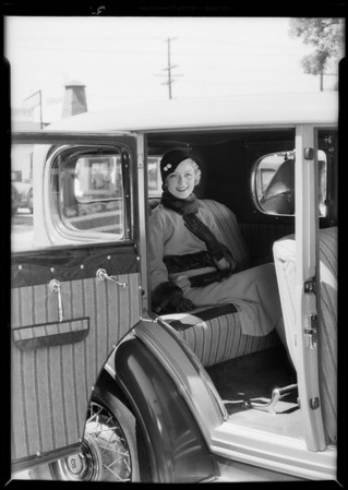 National Auto fabrics, Southern California, 1932