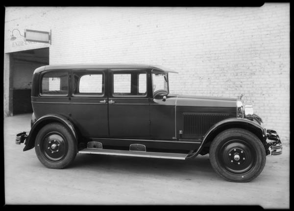 Nash car models, Southern California, 1927