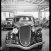 Damage to Essex sedan, Globe Indemnity, Southern California, 1935