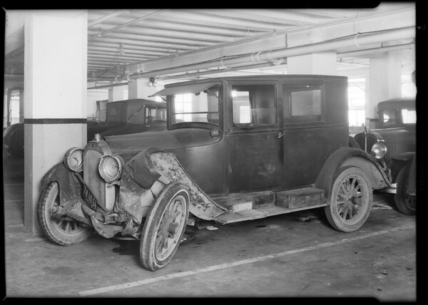 D. R. Atchison's Willys Knight sedan, Union Indemnity, Southern California, 1931