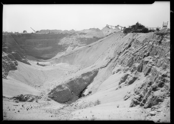 Gravel pits, Roscoe [Sun Valley], Los Angeles, CA, 1931