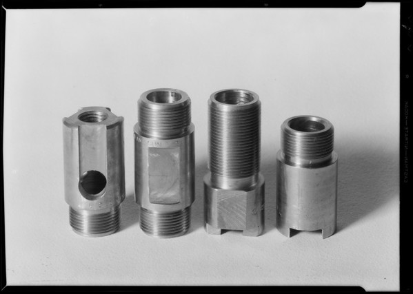 Parts of Axelson insert pump, Southern California, 1931