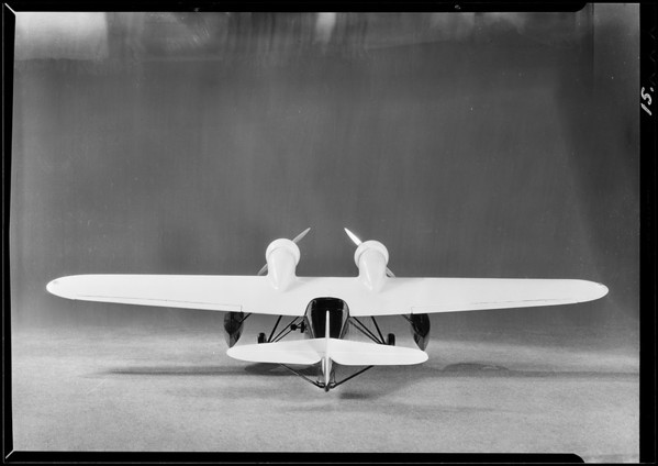 Model of amphibian, Southern California, 1929