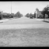 Intersection, Drexel Avenue & South Fairfax Avenue, Los Angeles, CA, 1931