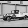 Tanner Motor Tours movie camera car, Southern California, 1932