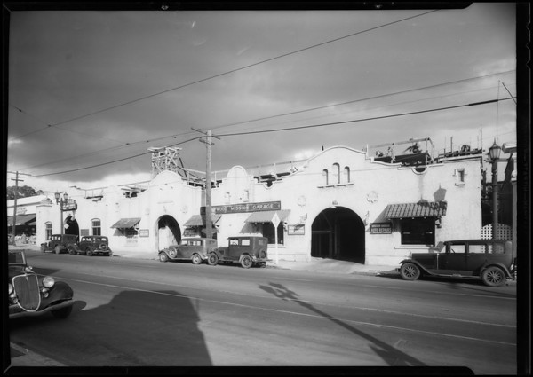 Mission Garage, 1728 North Highland Avenue, Los Angeles, CA, 1935